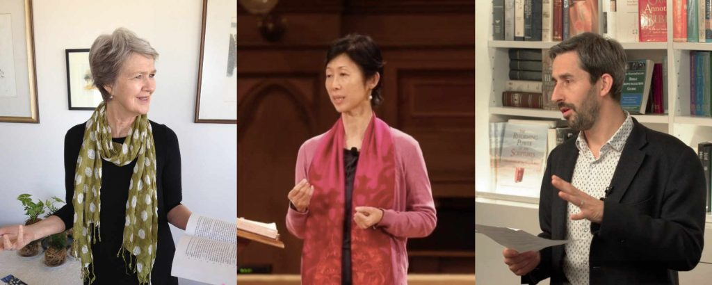 Christian Science Lecturers delivering talks